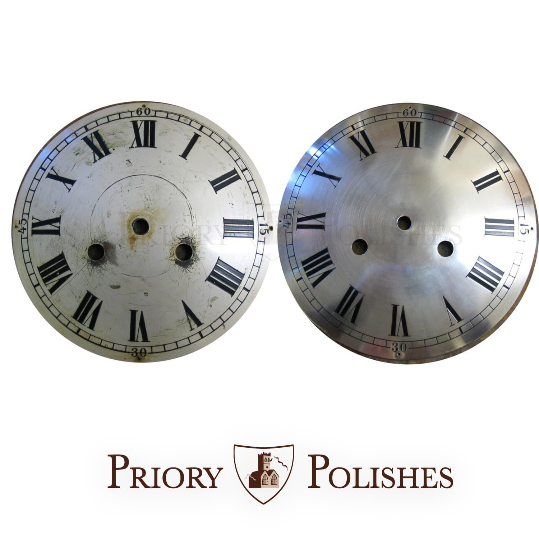 Silvering & Finishing Clock Dial