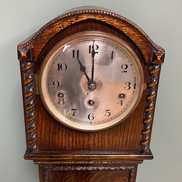 clock face restored