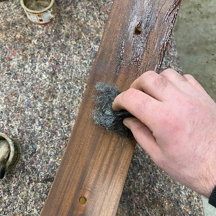 strip off the old varnish