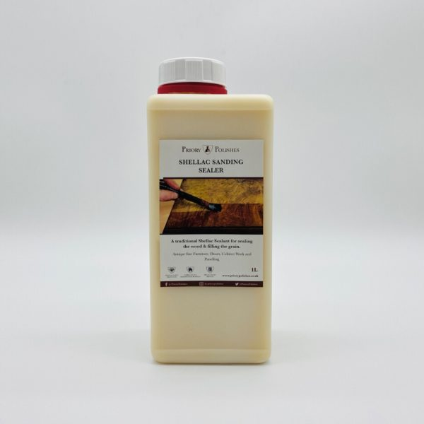 Priory polishes Shellac Sanding Sealer