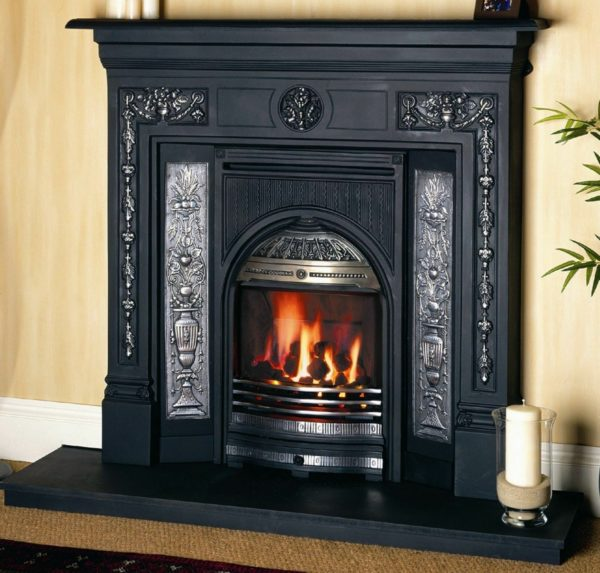 Fire surround renovated