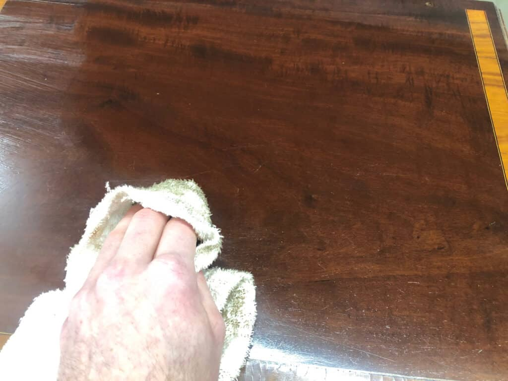 Revive Wood Furniture buffing up