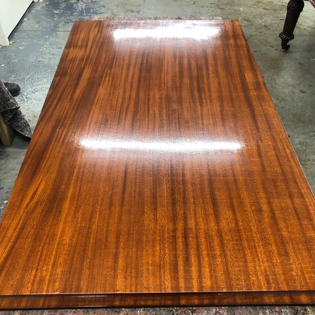 table leaf burnished