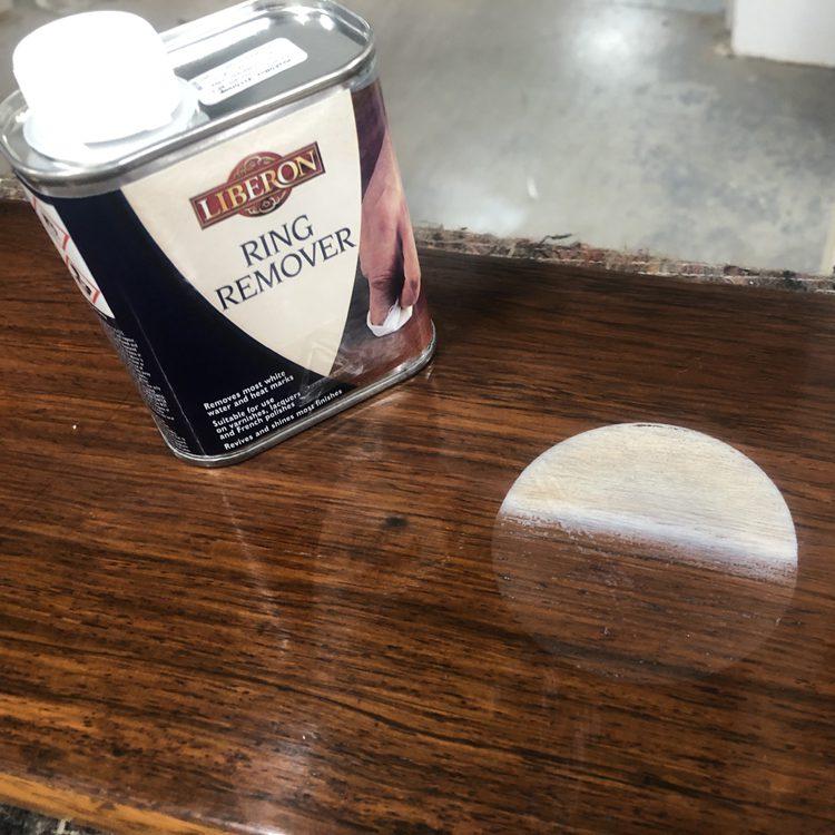 Liberon ring remover half way