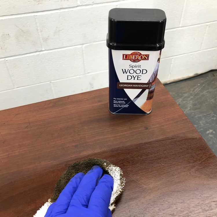 Stain the wood