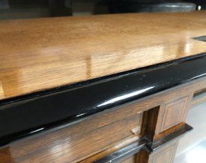 ebonized wood